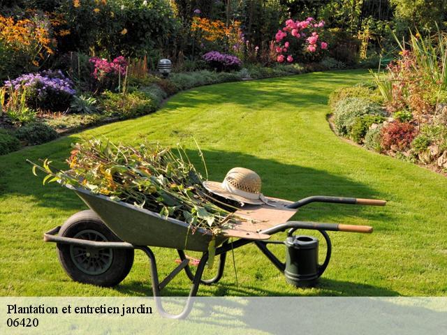 Jardinier paysagiste en entretien de jardin Valdeblore tel: 04.82 ...
